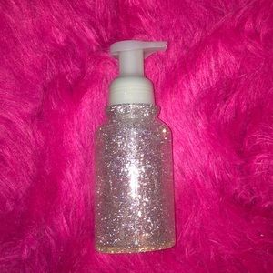 Glitter soap pump Bath and Body Works